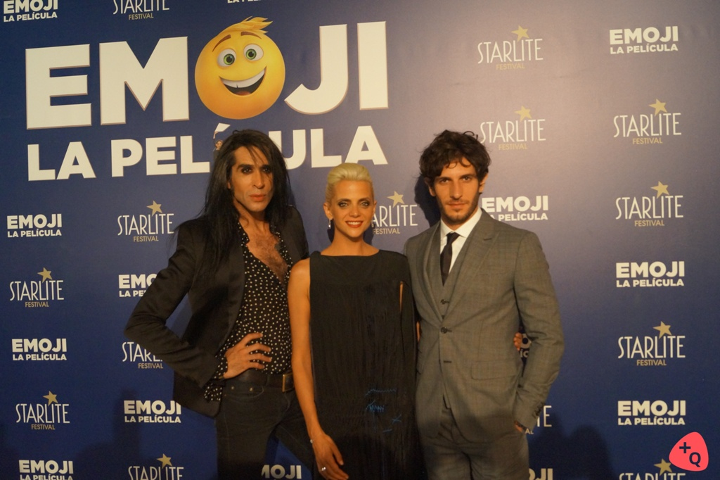 Mario Vaquerizo, Macarena Gómez y Quim Gutiérrez (© 2017 Rubén Jáñez)
