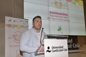 Norberto Domínguez Jurado, creador del baloncodo