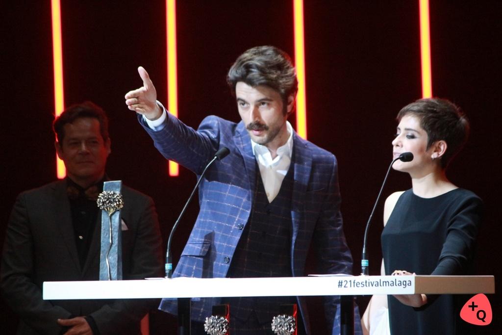 Javier Rey y María León (© 2018 Paloma Martos)