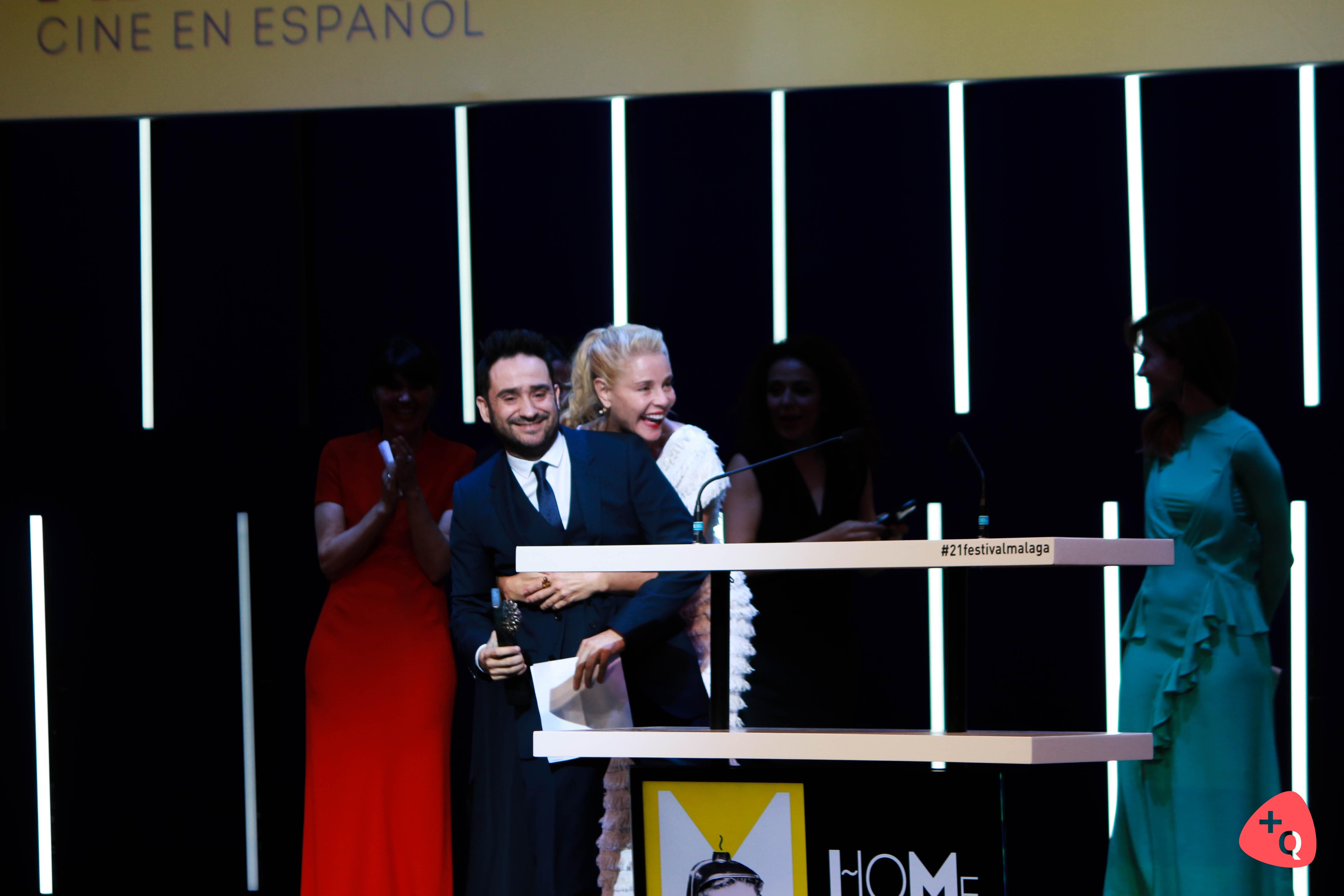 Juan Antonio Bayona y Belén Rueda (© 2018 Paloma Martos)