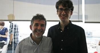José y Cesar Esteban Alenda (© 2018 Alicia Martín)