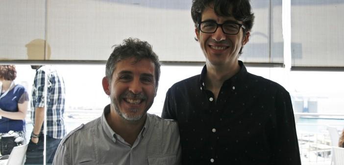 """César y José Esteban Alenda: """"En 'Sin fin' era muy importante dotar a los personajes de naturalidad"""""""