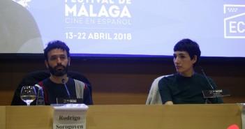 Rodrigo Sorogoyen e Isabel Peña (© 2018 Alicia Martín)