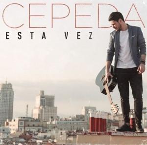 Portada de 'Esta vez', el primer single de Cepeda
