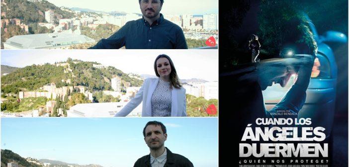 """Julián Villagrán: """"El thriller 'Cuando los ángeles duermen' es una película muy intensa que ha requerido un nivel emocional y físico muy fuerte"""""""